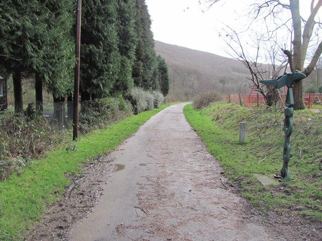 Celtic Trail near Blackmill