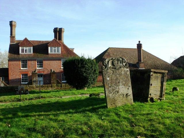 Waldron churchyard