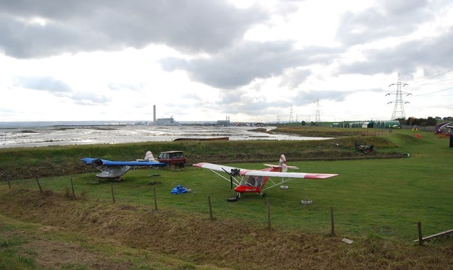 Microlights, Stoke Airfield