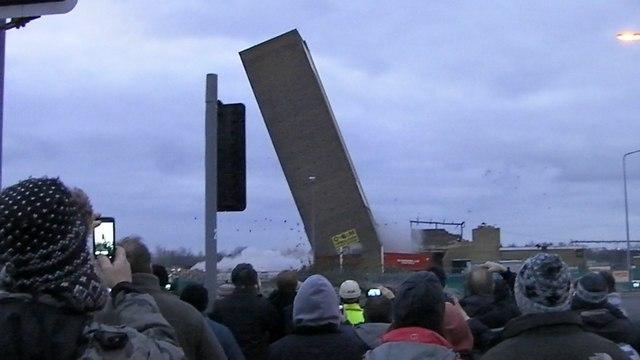 Campbells tower demolition