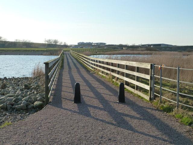 Causeway, Fleetwood Marsh Nature Park