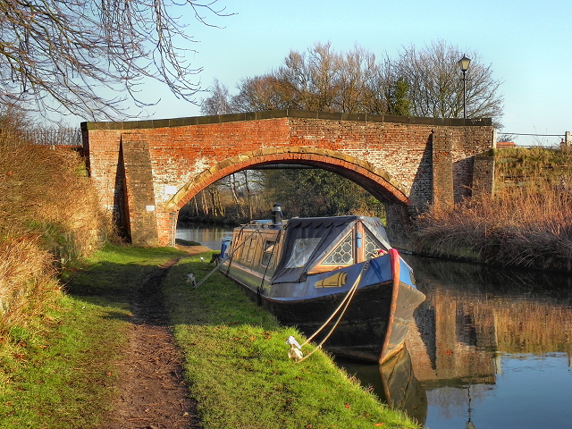 Bridgewater Canal, Dunham School Bridge