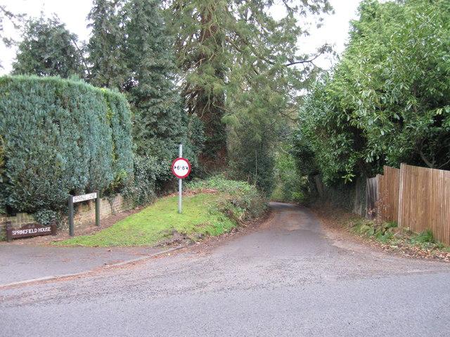 Spring Lane, Hurst Green
