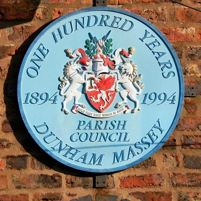 Dunham Massey plaque