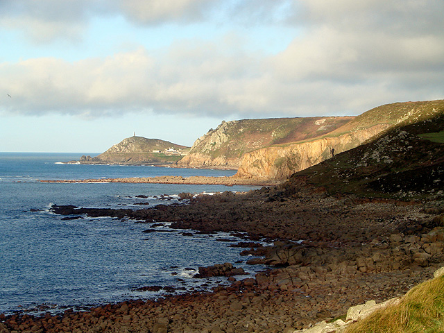 Headlands and rocky beaches