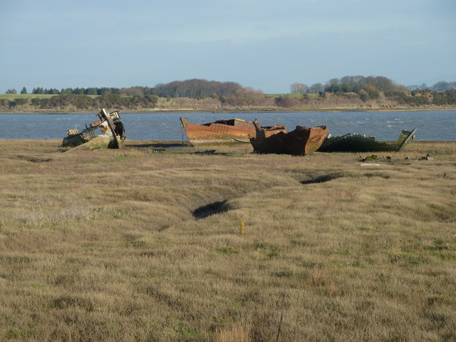 Boat Graveyard,Fleetwood Marsh