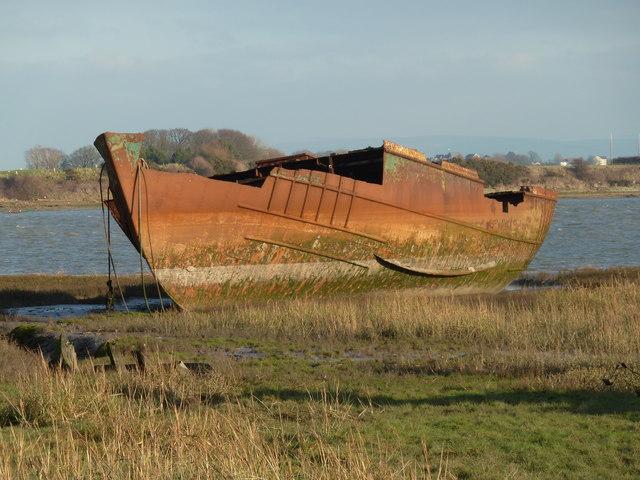 Rusted Hulk, Fleetwood Marsh