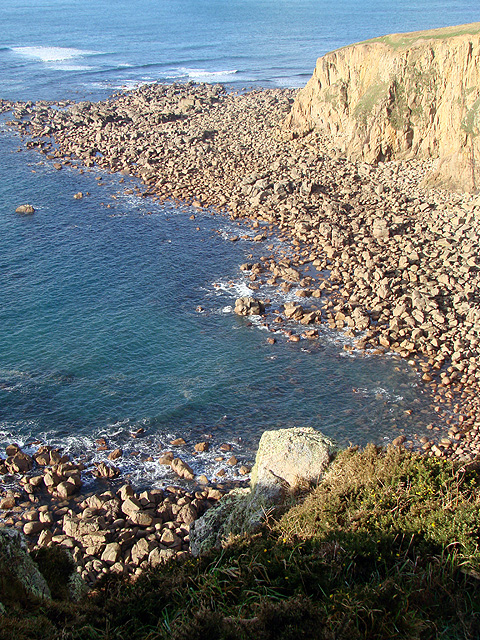 Polpry Cove with Gribba Point