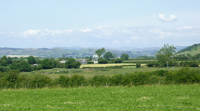 Farmland south-west of Tregaron, Ceredigion