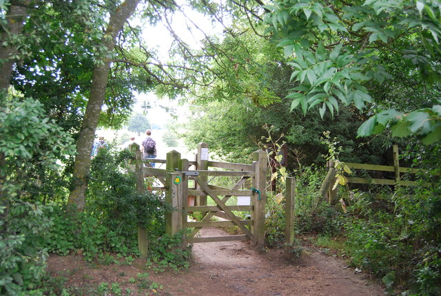 Kissing gate by the River Medway
