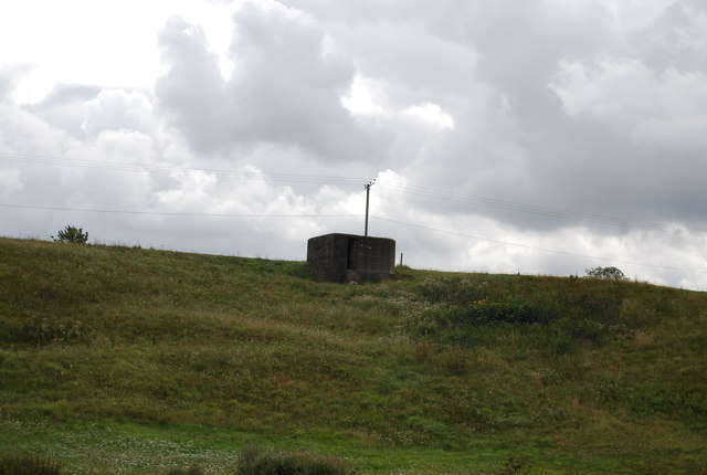 Pillbox above the Medway