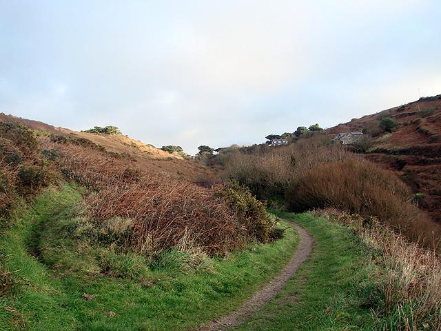 Footpath to Bosorne