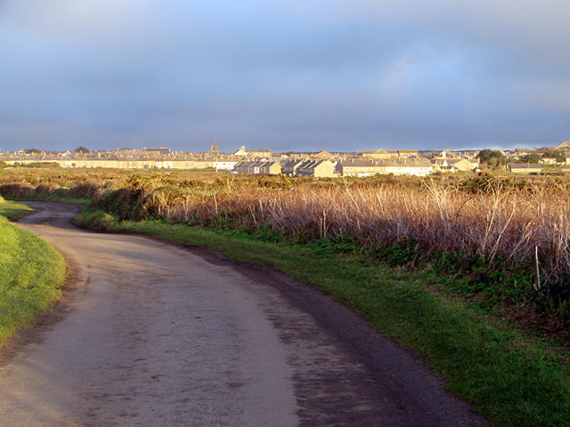The lane from Carn Gloose to St. Just
