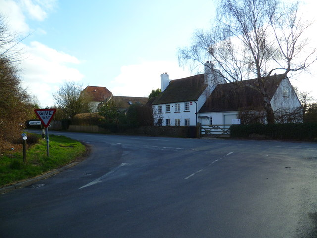 Dwellings at the junction of Appledram Lane and Dell Quay Road