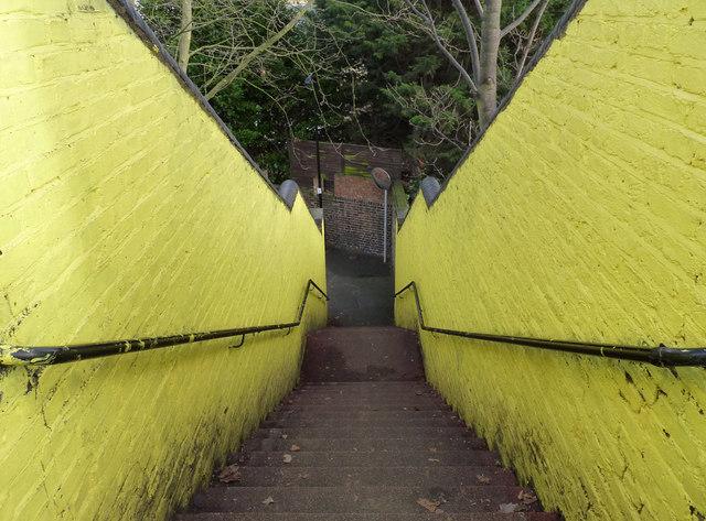 Follow the yellow brick path
