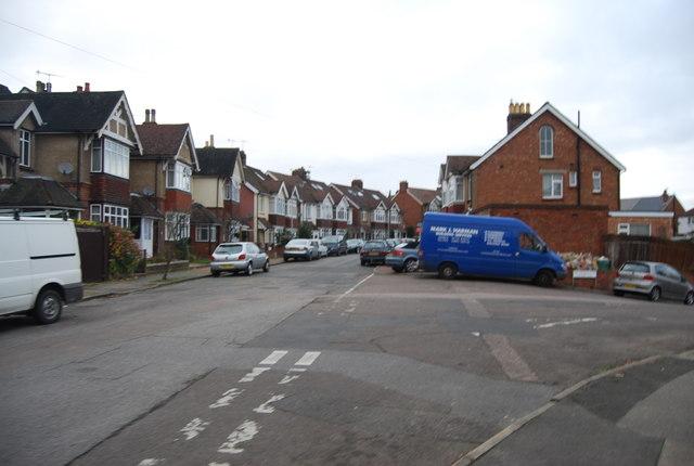 Southwood Avenue, All Saints' Rise junction
