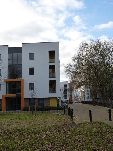 New flats at South Acton