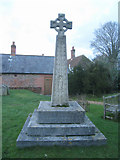 SU5846 : Dummer churchyard by Given Up