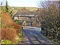 SD9528 : Lower Strines Farm by John Illingworth