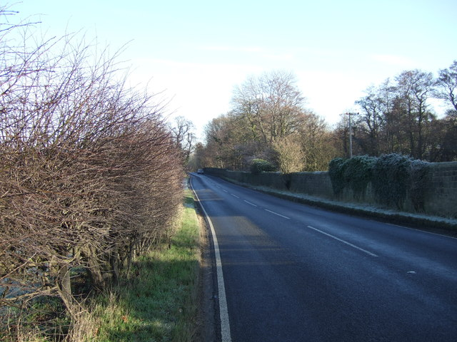 Otley Road (A659) heading east