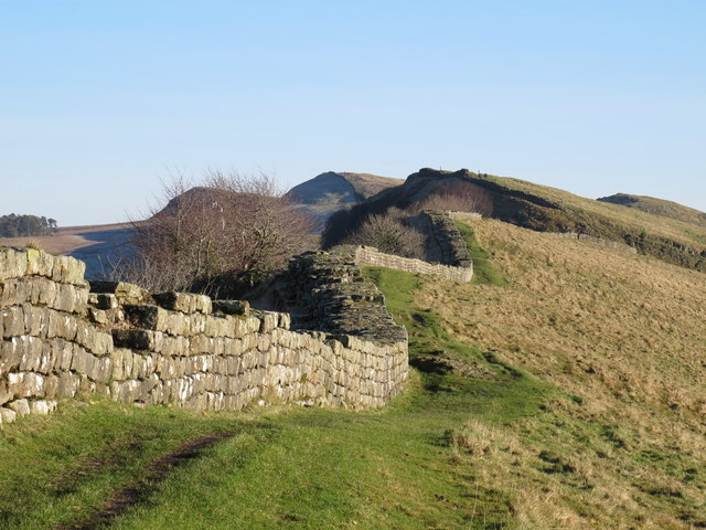 Hadrian's Wall west of Thorny Doors