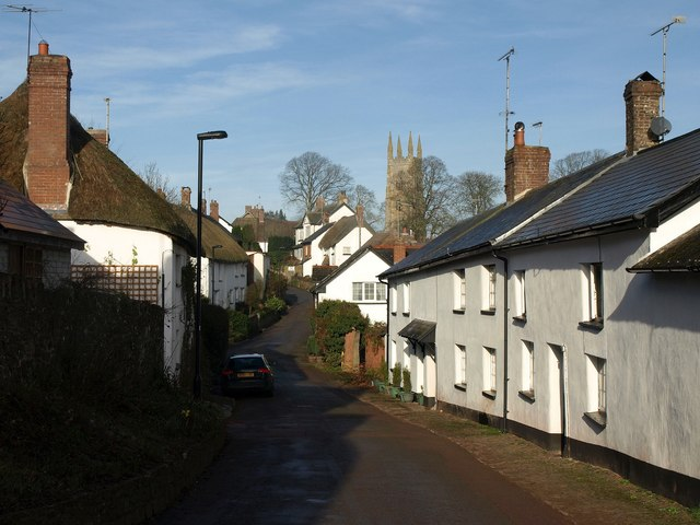 Chapple Lane, Sampford Courtenay