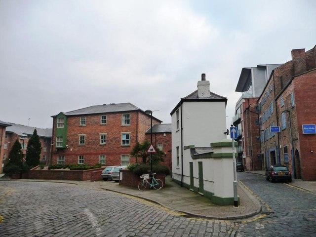 Junction of Dock Street and Navigation Walk