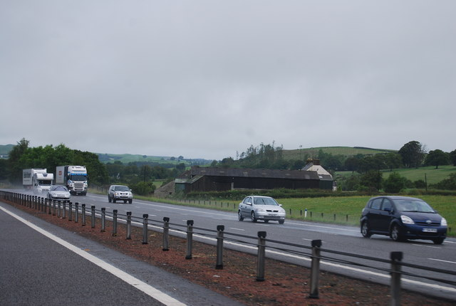 Cleuchside by the A74(M)
