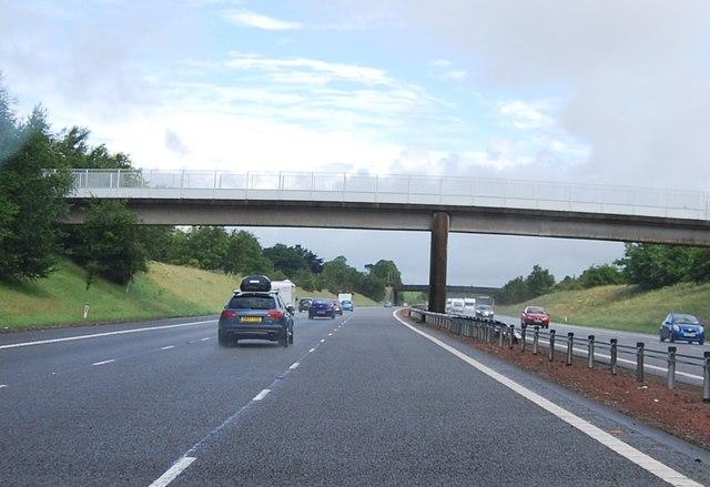 Footbridge, A74(M)