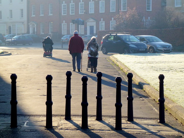 Frosty morning walk