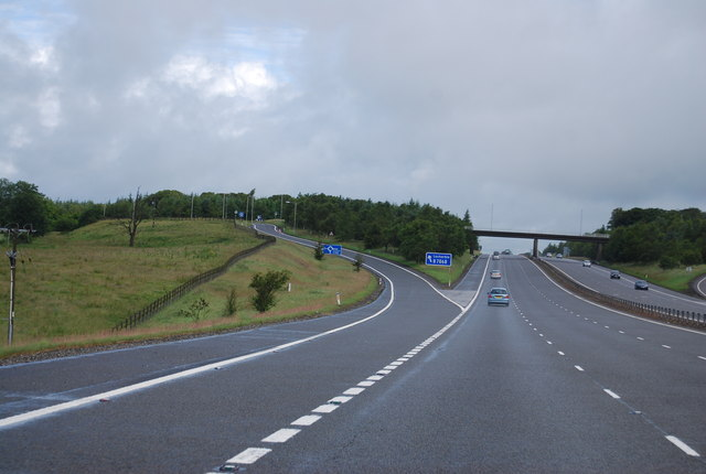 Junction 17, A74(M)