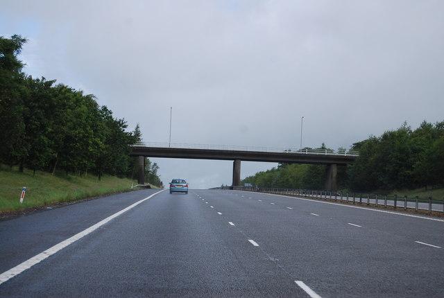 Overbridge, Junction 17, A74(M)