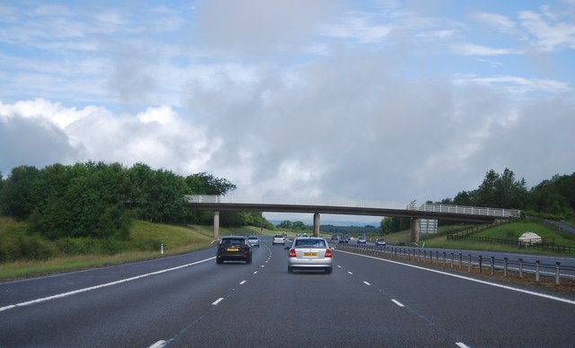 Muirhouse access Bridge, A74(M)