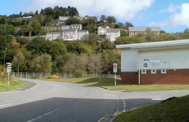 Edge of Llanhilleth Industrial Estate
