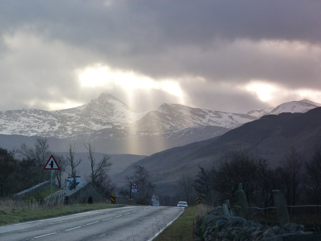 Stormy sky at Inverlael