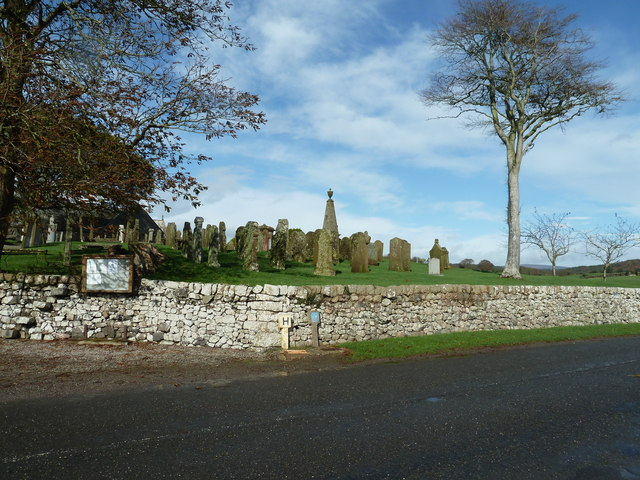 Graveyard at Colvend