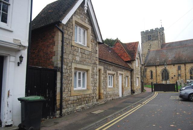 Almshouses, Church St