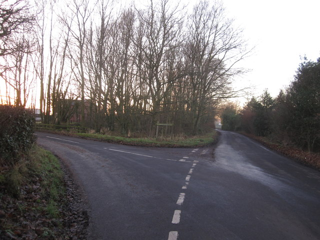 Paddockhill triangle Mobberley