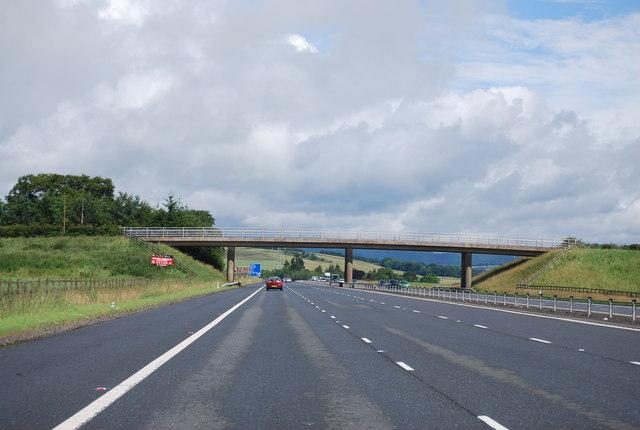 Bankend Access Bridge, A74(M)