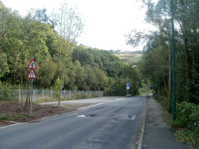 Unnamed road to Llanhilleth Industrial Estate