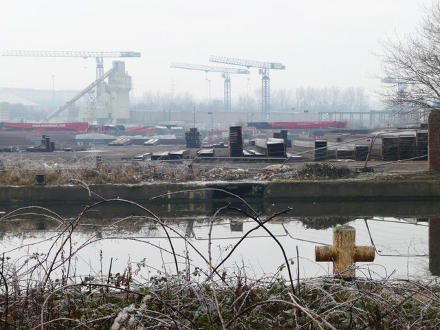 Steel stockholding at Stourton