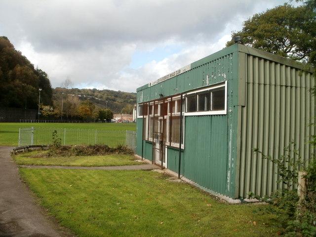 Llanhilleth & District Bowls Club pavilion
