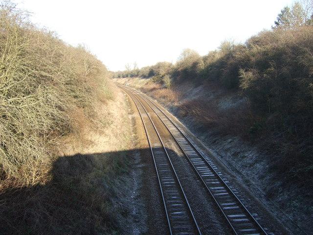 Railway towards Harrogate