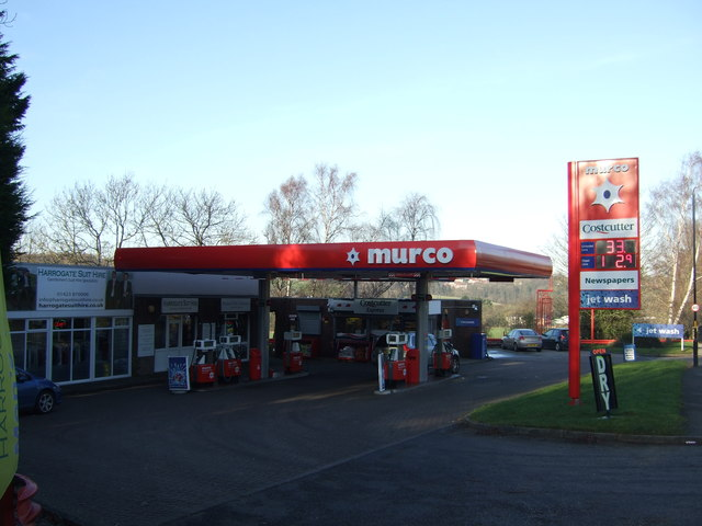 Service station on the A61