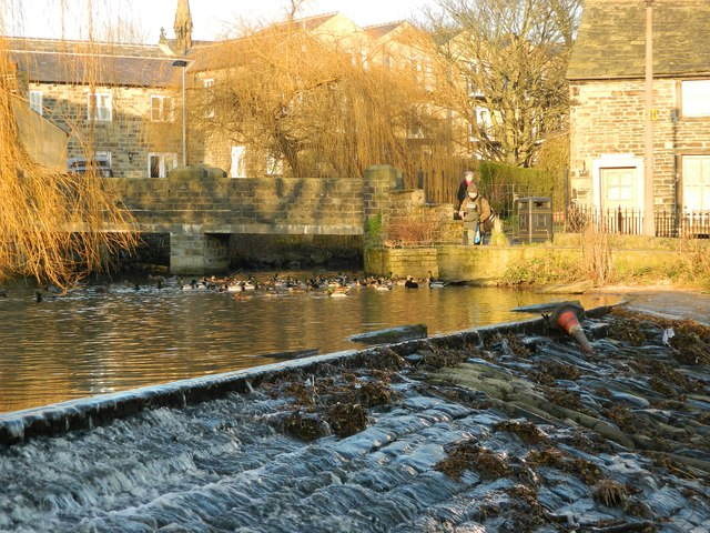 Silsden Duck Pond & Waterfall