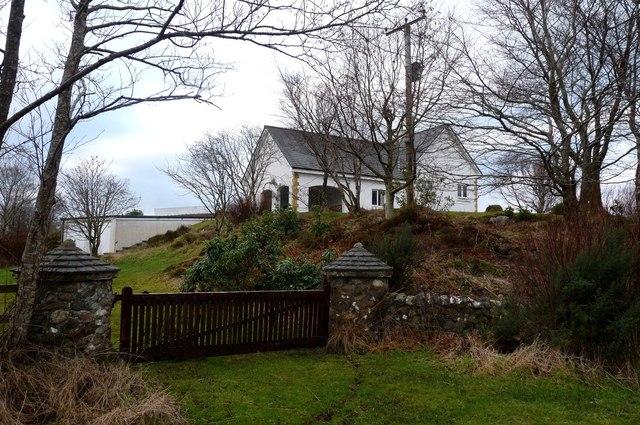 Recently built house at Coelard