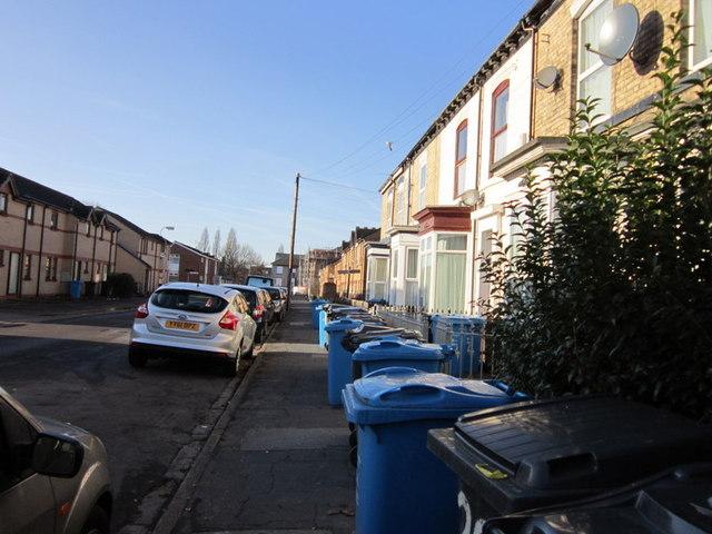 Margaret Street off Beverley Road, Hull