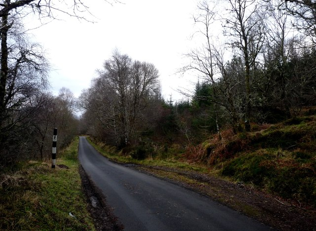 Road through North Shian to Appin