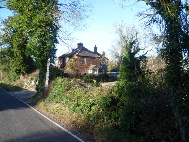 The entrance to Gosenhill Farm