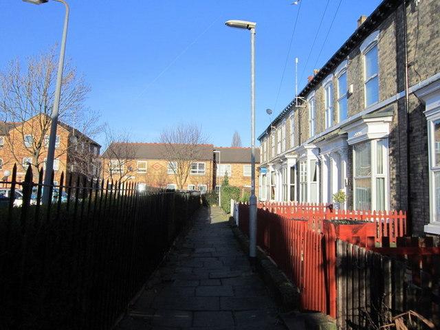 Houses on Cavendish Square off Margaret Street